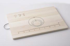 麺台(スケールとガイド付き)