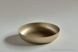 ディッシュ(ゴールド)18cm
