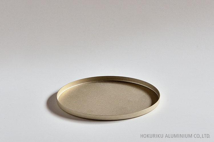 プレート(ゴールド)16cm