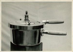 初期の弊社の圧力鍋