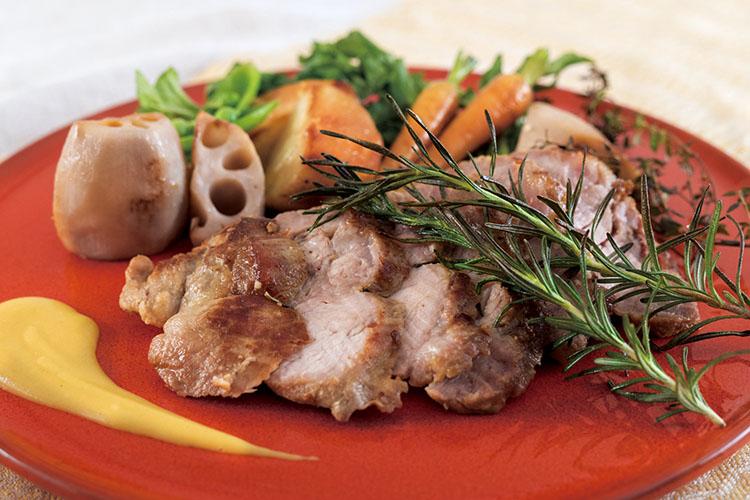 あわせ釜_豚かたまりと野菜のロースト
