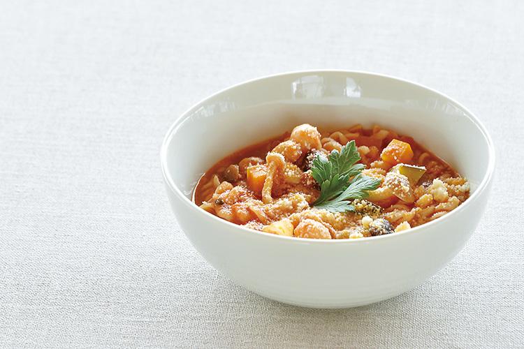 HAMON_豆とショートパスタのスープ