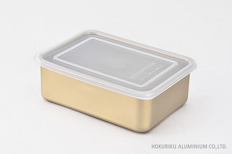 アルミ角容器6号:約150×210×72mm
