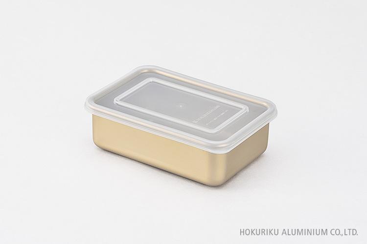 アルミ角容器8号:約109×160×52mm