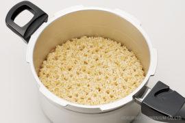 玄米を炊く
